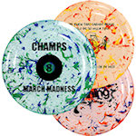 9 inch Confetti Flying Discs